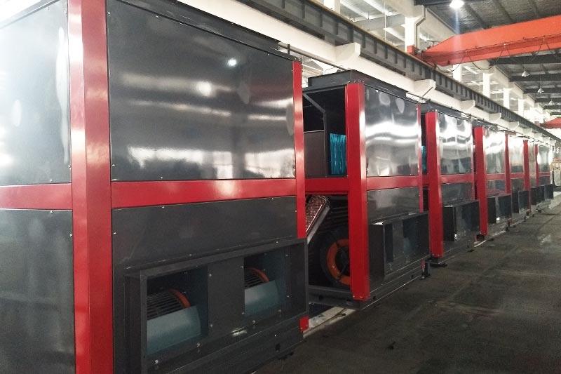 热泵生产线